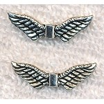 Angel Wing Bead, 24mm