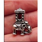 Indian Elephant Large Hole Beads Elephant Beads (10)