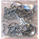 Dove Charms, Antique Silver (15)