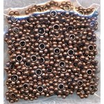 Copper 5mm Daisy Spacers (100)