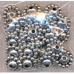Saturn Jewelry Spacers, Bulk 30pc