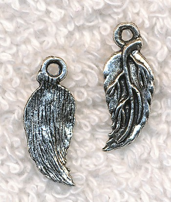 Leaf Charms, Antique Silver (15)