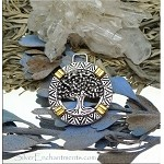 SOLDOUT - Tree of Life Pendants, Silver and Gold 2-Tone (10)