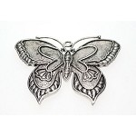 Large Butterfly Pendant, 60x45mm