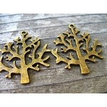 Bronze Tree Pendants (10)