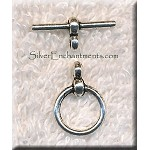 Simple Wrap Toggle Clasps 12mm (10)