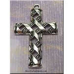 Ribbon Cross Pendant