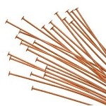 Copper Head Pins (50)