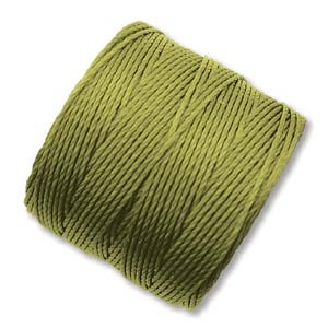 Chartreuse S-Lon #18 Twisted Nylon Beading Cord Spool
