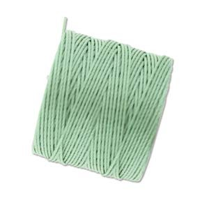 Seafoam Mint Green S-Lon #18 Twisted Nylon Beading Cord Spool