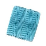 NICKEL BLUE S-Lon Beading Cord Superlon Beading Thread