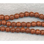 12mm Basketball Beads Sports Beads