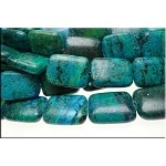 20x15mm Chrysocolla Beads Rectangle