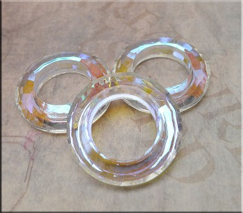 30mm Cosmic Crystal Ring CRYSTAL AB