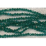 4mm Bicone Crystal Beads Aqua TEAL