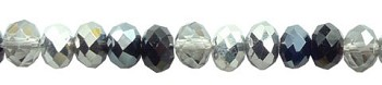 Crystal Beads, 8mm Rondelle DRAMATIC DESIGNER MIX