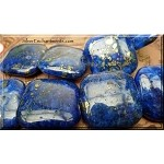 Lapis Lazuli Pendant Beads, Chicklet Square 30mm