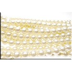 ZSOLDOUT - Glass Pearls, 10mm CREAM WHITE