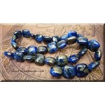 Lapis Lazuli Beads, Chicklet Square 12mm