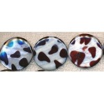 Mother of Pearl Beads, 30mm Coin