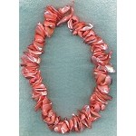 Mother of Pearl Beads, Freeform Coral