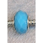 Crystal Beads, Big Hole Beads TURQUOISE (8)