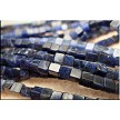Sodalite Beads, 4mm Cube