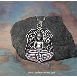 Large Meditation Yogi Yoga Necklace
