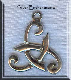 Sterling silver rustic triskele pendant celtic spiral triskelion sterling silver rustic triskele pendant celtic triskelion necklace aloadofball Image collections