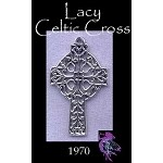 Sterling Silver Filigree Celtic Cross Pendant