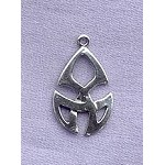 Sterling Silver Celtic Tribal Knot Pendant, Celtic Jewelry