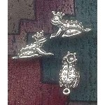 Sterling Silver 3D Frog Prince Charm