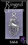 Sterling Silver Unicorn Charm-Pendant
