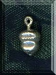 Sterling Silver 3D Acorn Charm, Acorn Jewelry
