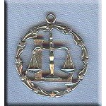 Sterling Silver Libra Pendant Medallion, Zodiac Astrology