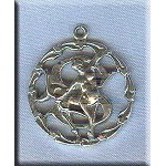ZDISCONTINUED - Sterling Silver Sagittarius Medallion Pendant
