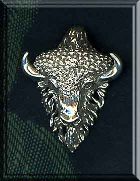 Taurus Pendant with Hidden Bail, Sterling Silver