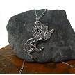 Sterling Silver Celtic Greyhound Necklace