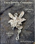 Sterling Silver Fairy Jewelry Connector