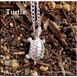 Sterling Silver Turtle with Hidden Bail
