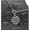 Sterling Silver Celtic Lace Charm