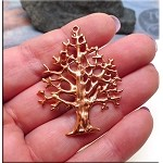 Solid COPPER Tree of Life Pendant, Large