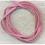 PINK Micro Fiber Suede Ultra Suede Lace Cords