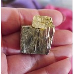 Natural Pyrite Twin Crystal Cluster Cube Specimen Spanish Gold Pyrite 54.4 grams