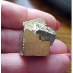 Natural Pyrite Triplet Crystal Cluster Cube Specimen Spanish Gold Pyrite 22.9grams