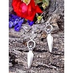 Sterling Silver Goddess Earrings, Lunar Goddess Earrings