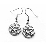Pentacle Earring, Wiccan Jewelry