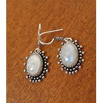 ZSOLD - Moonstone Earrings, Bohemian Gemstone Earrings