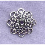 Sterling Silver Filigree Star Jewelry Finding
