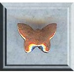 Copper Butterfly Beads (2)